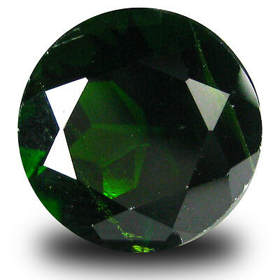 3.02 ct  Very good Round Shape (9 x 9 mm) Green Chrome Diopside Natural Gemstone