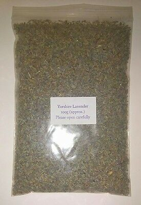 100g Dried Premium Aromatic Yorkshire Lavender Pot Pourri Crafts