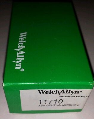 Welch Allyn 3.5V #11710 Standard Ophthalmoscope-- New!