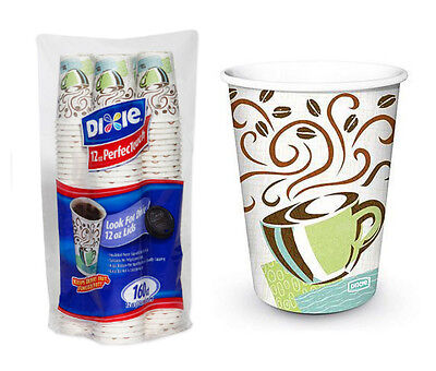 Disposable Paper Coffee Cups Insulated 12oz 160 Count Hot PerfecTouch Haze To Go