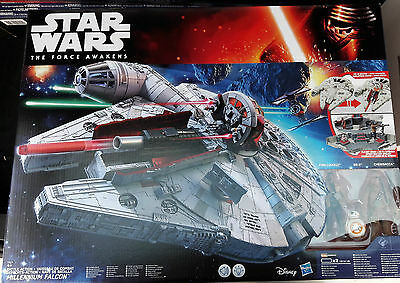 Star Wars E7 Battle-Action Millennium Falke Hasbro B3678