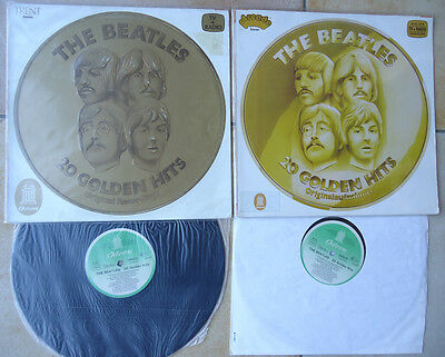 The Beatles Rare Lot 2 Lp 33 T Germany Allemagne 20 Golden Hits