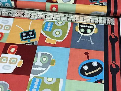 Fat Quarter Thomas The Tank Engine The Color Express Numbers Quilting Fabric B