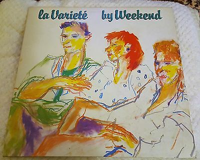 La Variete  by Weekend - LP - Rough Trade Records - Rough 39 [1982]