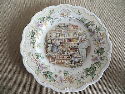 "Royal Doulton 'Brambly Hedge' - The Store Stump - 8"" Plate"