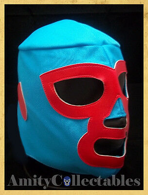 'NACHO LIBRE' MEXICAN WRESTLING MASK  [Costume, Lucha Libre, WWE, Fancy Dress]