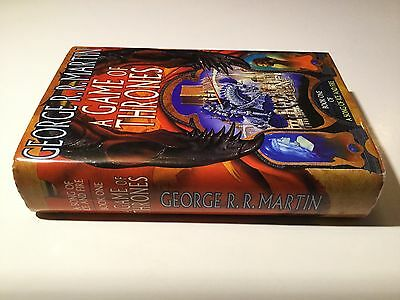 A Game of Thrones A Song of Ice & Fire George R R Martin 1st Edition BCA (UK) HB