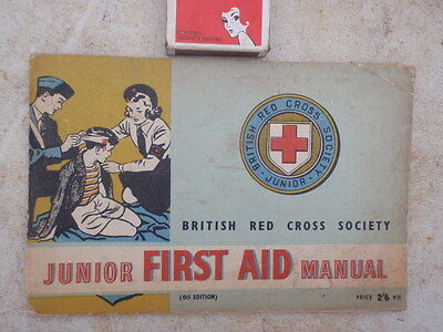 1950 Junior Red cross  first aid  Booklet