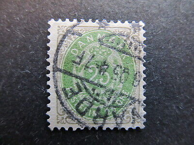 A3P27 Denmark 1902-04 Wmk Crown Type III 25o Perf. 13 used #20
