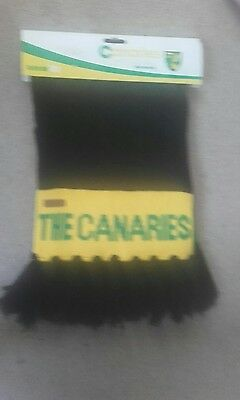 Norwich city scarf