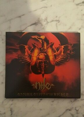 Nile - Annihilation Of The Wicked Gatefold CD