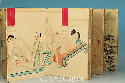 Chinese Old Art Collection Painting Ancient New Married Belle Book Picture