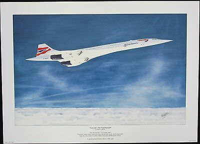 Concorde Limited Edition print
