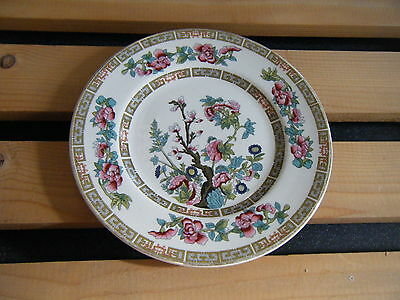 """PAIR OF *MADDOCK* BONE CHINA - INDIAN TREE 6.50"""" SIDE-PLATES EMBOSSED - EXC.Cn:"""