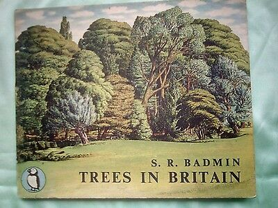PENGUIN PUFFIN TREES IN BRITAIN 1st HARDBACK ed.no 31 second printed Ed.
