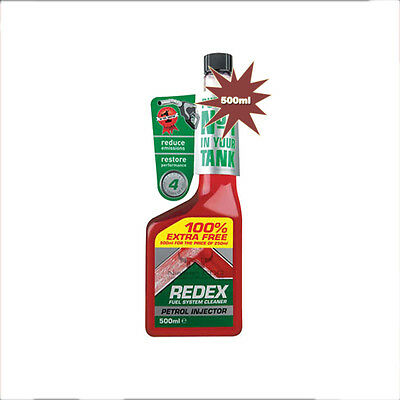 Redex Petrol Injector Fuel System Cleaner With 100% EXTRA FREE 500ml