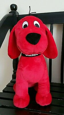 Clifford the big red dog plush Kohls Cares