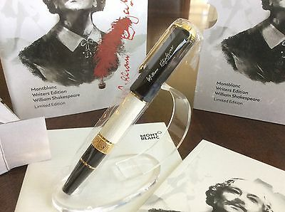 Montblanc William Shakespeare Special Edition Rollerball - 114350 SEALED BOX