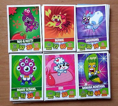 Moshi Monsters Trading cards 2