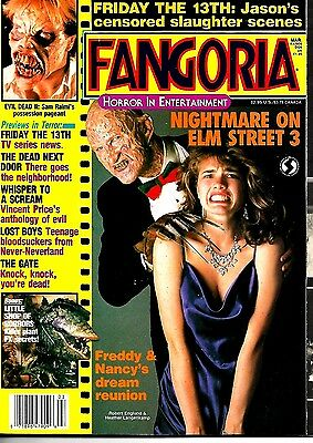 Fangoria Magazine #62 Ex  Condition