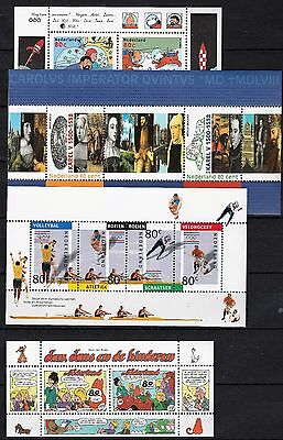 Nederland Niederlande Netherlands Blocks Sheets Lot Postfris MNH