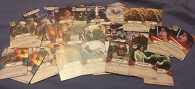 Star Wars Destiny complete set of HERO side commons, 38 cards, 2 of each