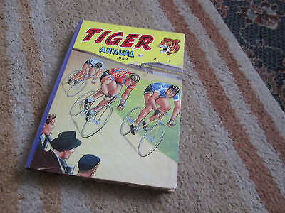 TIGER ANNUAL 1959 - ( The Third One ) - Nice Book, Roy of the Rovers