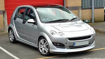 Smart brabus forfour (44 for4), 217bhp silver manual