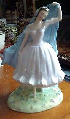 "Restored Royal Doulton, The Forest Glade ""Giselle"", HN2140 , 1954- 1965"