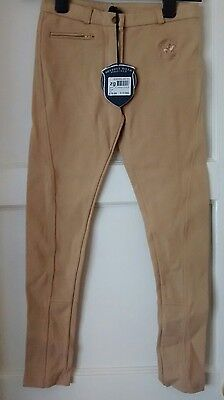 New Beverly Hills polo club jodhpurs age 9-10