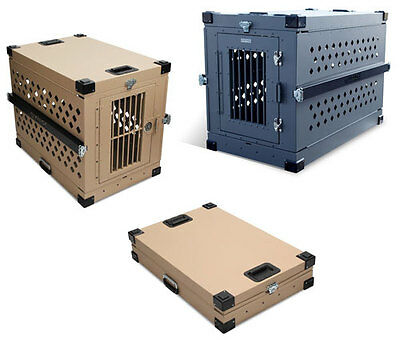 Impact Case Collapsible Dog Crate Large (Desert Tan) Kennel SAVE MONEY HERE