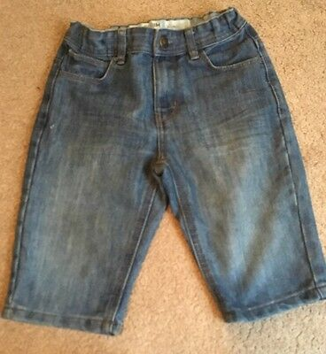 Boys Jean Shorts Age 8-9 Years