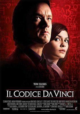 35mm Codice da vinci  (Da Vinci code) TRAILER/FILM/MOVIE/FLAT/TEASER/BANDE.