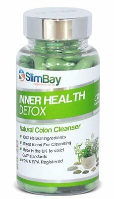 SlimBay Inner Health Detox  COLON CLEANSE Weight Loss Supplement 90 Capsules