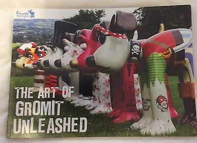 "Gromit Unleashed - ""The Art of Gromit Unleashed"" Paperback Book - Brand New"