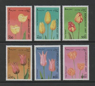 Afghanistan 1997 Flowers (Tulips) *mint Never Hinged*