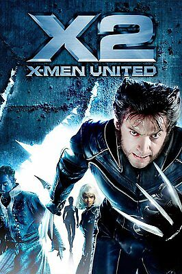 35mm X MEN 2 TRAILER/FILM/MOVIE/FLAT/TEASER/BANDE.