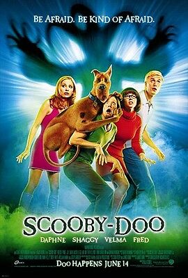35mm SCOOBY DOO TRAILER/FILM/MOVIE/FLAT/TEASER/BANDE.