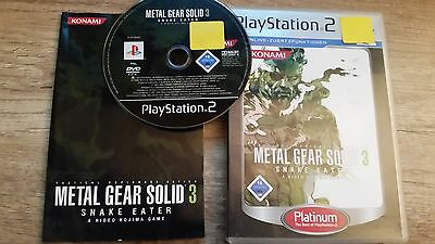 Metal Gear Solid 3 - Snake Eater (Sony PlayStation 2, 2006, DVD-Box)