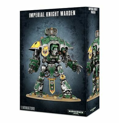 Space Marine Imperial Knight Warden Warhammer 40k nuevo/sealed