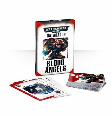 Datacards Blood angels ENGLISH Warhammer 40k