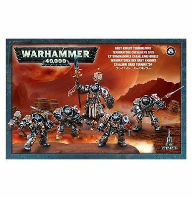 Grey Knights Terminators Warhammer 40k nuevo/sealed
