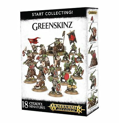 Start collecting! Greenskinz Orcos warhammer Age of Sigmar nuevo/sealed