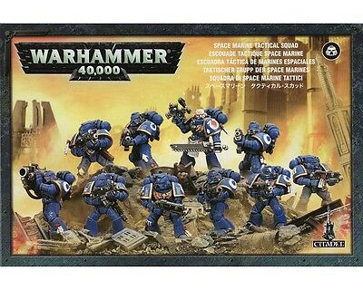 Space Marine Tactical Squad Warhammer 40k nuevo/sealed OLD VERSION