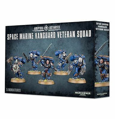 Space Marine Vanguard Veteran Squad Warhammer 40k nuevo/sealed