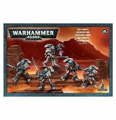 Grey Knights Squad Warhammer 40k nuevo/sealed
