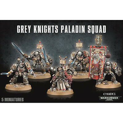 Grey Knights Paladin Squad Warhammer 40k nuevo/sealed