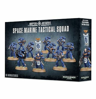 Space Marine Tactical Squad Warhammer 40k nuevo/sealed