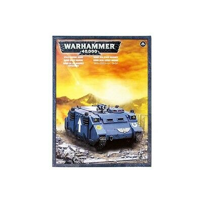 Space Marine Rhino/Marines Espaciales Warhammer 40k nuevo/sealed