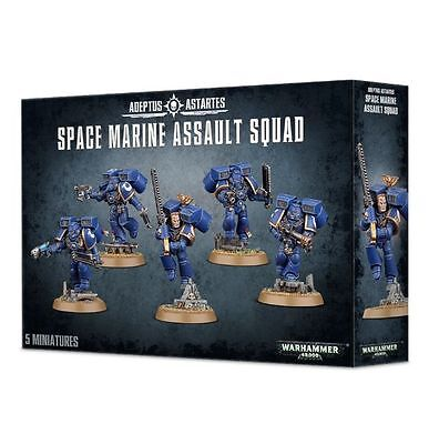 Space Marine Assault Squad Warhammer 40k nuevo/sealed